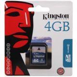 Kingston 4gb Sd Memory Card With Vat Bill