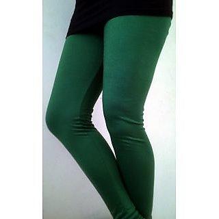 RP Girl's Plain Legging Dark Green 011DG