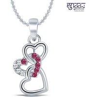 Sukkhi Silver Plated Multi Pendants Chains For Women