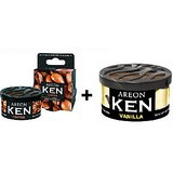 Areon Ken Car , Home ,office Air Freshener Coffee+ Vanilla.