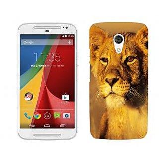 Trilmil Premium Design Back Cover Case for Motorola Moto G (2nd Gen) PRTMTG2A00470