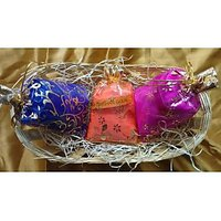 Shri Darshan Scented Gulal Gift Set Pack Of 3
