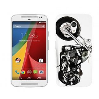 Trilmil Premium Design Back Cover Case for Motorola Moto G (2nd Gen) PRTMTG2A00520