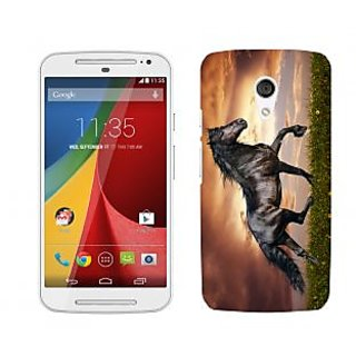 Trilmil Premium Design Back Cover Case for Motorola Moto G (2nd Gen) PRTMTG2A00398