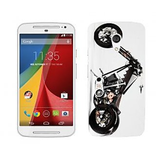 Trilmil Premium Design Back Cover Case for Motorola Moto G (2nd Gen) PRTMTG2A00552