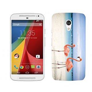 Trilmil Premium Design Back Cover Case for Motorola Moto G (2nd Gen) PRTMTG2A00456