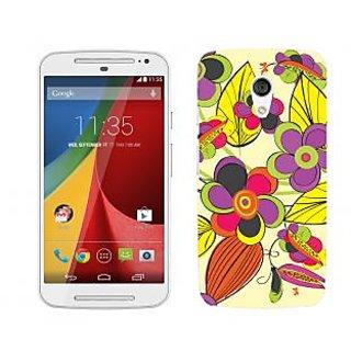 Trilmil Premium Design Back Cover Case for Motorola Moto G (2nd Gen) PRTMTG2A00053