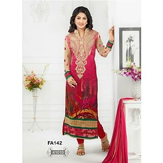 Fabfirki The Special Shaded Designer Salwar Suit By Heena Khan