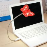 LED Flyte USB - Cool White Light - Red