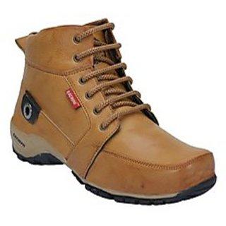 Bachini Mens Tan Half Ankle Boot