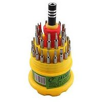 31 IN 1 Screw Driver MAGNETIC TOOLKIT TOOL KIT FOR Mobile Laptop Computer.