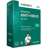 KASPERSKY ANTIVIRUS 2014 3 USER 1YEAR