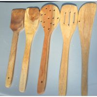 Wooden Kitchen Tools (Set Of 5)