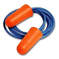 5 Pairs of Ear Plugs Ear Protectors Corded Earplugs Noise Cancellation