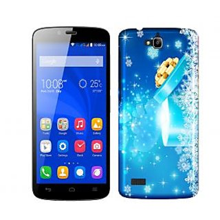 Wow Premium Design Back Cover Case for Huawei Honor Holly PNTHHollyA01695