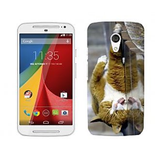 Wow Premium Design Back Cover For Motorola Moto G (2nd Gen) PNTMTG2A01280