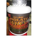100% Pure Isolate Whey Protein 1.0kg Pre & Post Workout Supplement Flaver - Vanilla