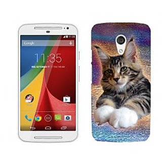 Wow Premium Design Back Cover For Motorola Moto G (2nd Gen) PNTMTG2A01294