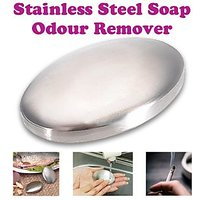 Gadget Hero's Stainless Steel Hand Odour Remover, Soap Style For Hotel Chef Kitchen & Smoker's