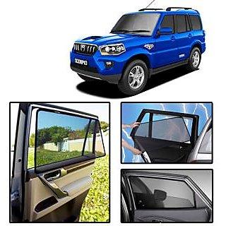 Curtains Ideas car window curtain : Guruji Mart - Magnetic Car Window Curtain/Sun Shades For Mahindra ...