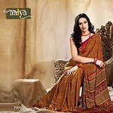 Aalya Beautiful  Print Saree (7005)
