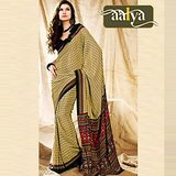 Aalya Beautiful Print Saree (7030)