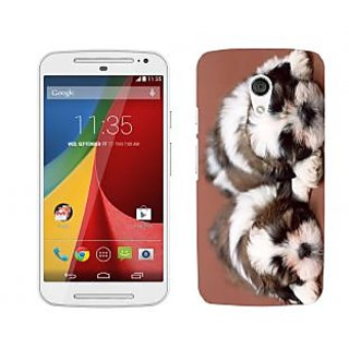 Wow Premium Design Back Cover For Motorola Moto G (2nd Gen) PNTMTG2A01368