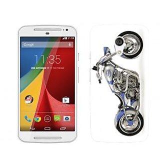Wow Premium Design Back Cover Case for Motorola Moto G (2nd Gen) PNTMTG2A00578