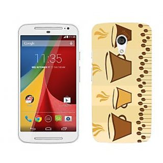 Wow Premium Design Back Cover Case for Motorola Moto G (2nd Gen) PNTMTG2A00140