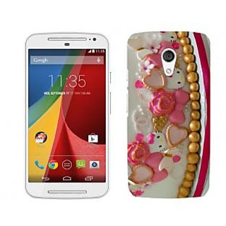 Wow Premium Design Back Cover Case For Motorola Moto G (2nd Gen) PNTMTG2A02130