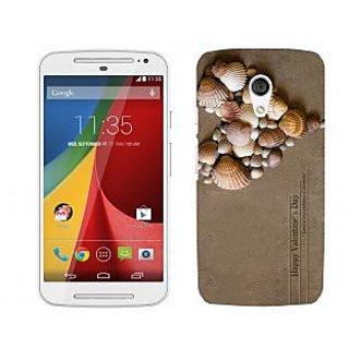 Trilmil Premium Design Back Cover For Motorola Moto G (2nd Gen) PRTMTG2A02105