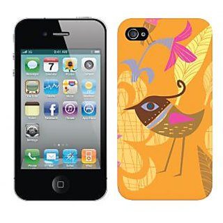 Trilmil Premium Design Back Cover Case for Apple Iphone 4 PRTi4A00133