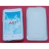 Ew High Quality Platina Jelly Case For Micromax Ninja 4 / A87 White