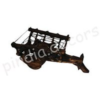 Bottle Cart Antique Holder Holding Home Decor Kitchen Gift Wooden Fancy Antique