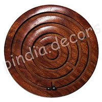 Chakri Game Plate Kids Toy Hand Made Wooden Gift Item Office Home Stress Buster