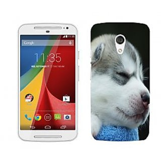 Trilmil Premium Design Back Cover For Motorola Moto G (2nd Gen) PRTMTG2A01411