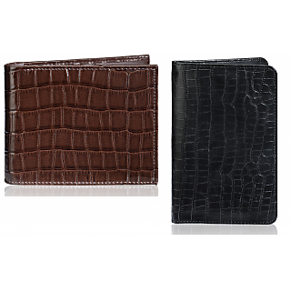 Rico Sordi Leather Wallet & Leather Pasport Holder(Design 18)(Rsmw_38_W_40_Wph_46)