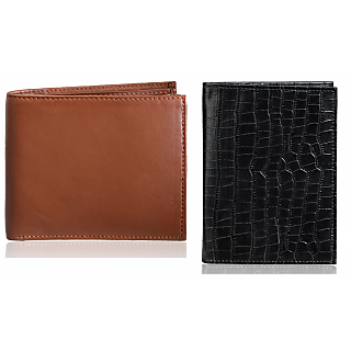 Rico Sordi Leather Wallet & Leather Pasport Holder(Design 34)(Rsmw_47_W_46_Wph_44)