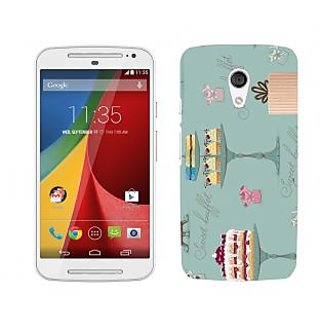 Trilmil Premium Design Back Cover For Motorola Moto G (2nd Gen) PRTMTG2A01704