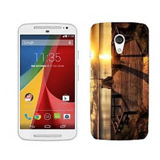 Trilmil Premium Design Back Cover For Motorola Moto G (2nd Gen) PRTMTG2A01799