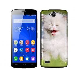 Trilmil Premium Design Back Cover Case for Huawei Honor 3C PRTHH3CA01253