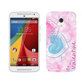 Trilmil Premium Design Back Cover For Motorola Moto G (2nd Gen) PRTMTG2A02081