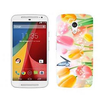 Trilmil Premium Design Back Cover For Motorola Moto G (2nd Gen) PRTMTG2A01993