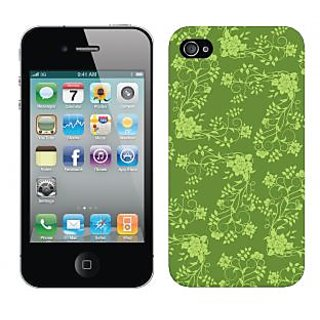 Trilmil Premium Design Back Cover Case for Apple Iphone 4 PRTi4A00044