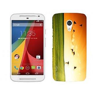Trilmil Premium Design Back Cover For Motorola Moto G (2nd Gen) PRTMTG2A01661
