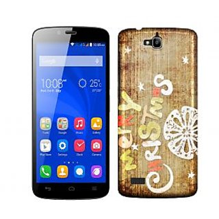 Trilmil Premium Design Back Cover Case for Huawei Honor 3C PRTHH3CA00227