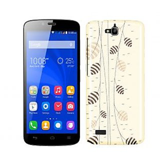 Trilmil Premium Design Back Cover Case for Huawei Honor Holly PRTHHollyA00343