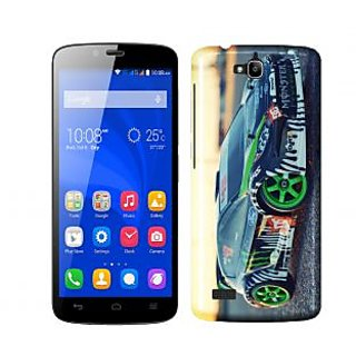 Trilmil Premium Design Back Cover Case for Huawei Honor 3C PRTHH3CA00696