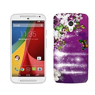 Trilmil Premium Design Back Cover For Motorola Moto G (2nd Gen) PRTMTG2A01782