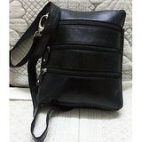 Leather Crossbody Unisex Bag